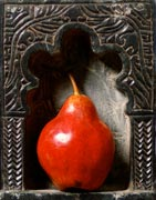 Miggs B Lenticular - Red Pear